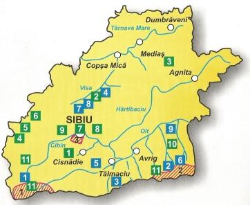 Harta arii protejate